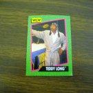 Teddy Long Card No. 152 - 1991 Impel WCW Card