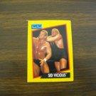 Sid Vicious Card No. 34 - 1991 Impel WCW Card