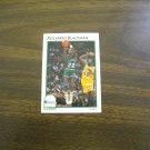 Rolando Blackman Dallas Mavericks Guard Card No. 9 - 1991 NBA Basketball Card
