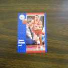 Johnny Dawkins Philadelphia 76ers Guard Card No. S-25 - 1991 Fleer Basketball Card
