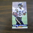 Vance Johnson San Diego Chargers Card No. 353 - Game Day '94 Fleer Football Card