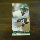 Ryan Yarborough New York Jets  Card No. 312 - Game Day '94 Fleer Football Card