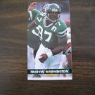 Marvin Washington New York Jets  Card No. 311 - Game Day '94 Fleer Football Card