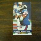 David Meggett New York Giants Card No. 295 (FB295) Game Day '94 Fleer Football Card