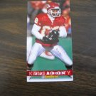 J. J. Birden Kansas City Chiefs Card No. 187 - Game Day '94 Fleer Football Card