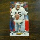 Jeff Hostetler Los Angeles Raiders Card No. 202 - Game Day '94 Fleer Football Card