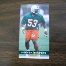 Aubrey Beavers Miami Dolphins Card No. 229  Game Day '94 Fleer Football Card