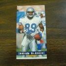 Brian Blades Seattle Seahawks Card No. 378 - Game Day '94 Fleer Football Card