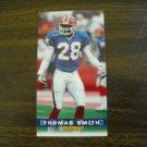 Thomas Smith Buffalo Bills Card No. 42 - Game Day '94 Fleer Football Card