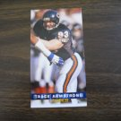 Trace Armstrong Chicago Bears Card No. 47 - Game Day '94 Fleer Football Card