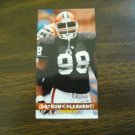 Anthony Pleasant Cleveland Browns Card No. 87 (FB87) Game Day '94 Fleer Football Card
