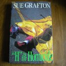 H is for Homicide by Sue Grafton (1991) (BB68)