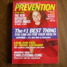 Prevention December 2000 Vol. 52 No. 12 Arthritis Super Drig 10 Natural Remedies Cholesterol Cure