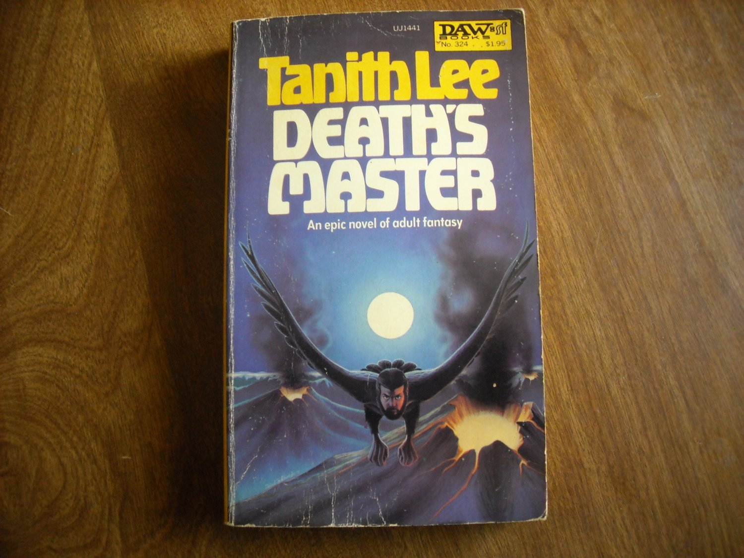 Death's Master by Tanith Lee  No. 324 (1979) (WCC4) an epic novel of adult fantasy