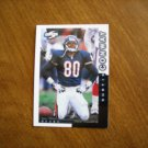Curtis Conway Chicago Bears WR Card No. 23 - 1998 Score Pinnacle Football Card