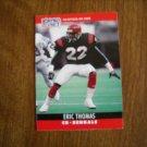 Eric Thomas Cincinnati Bengals CB Card No. 65 - 1990 NFL Pro Set  Football Card