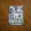 Carl Zander Cincinnati Bengals Linebacker Card No. 24 - 1991 Fleer Ultra  Football Card