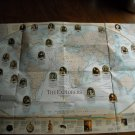 National Geographic Double sided Map The Explorers and Millennium In Maps Exploration (1998)
