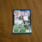 Terry Kirby Cleveland Browns Running Back Card No. 47 - 2000 Score Football Card