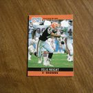 Felix Wright Cleveland Browns S Card No. 76 - 1990 NFL Football Card