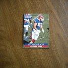 Will Wolford Buffalo Bills Tackle Card No. 88 - 1991 NFL Football Card