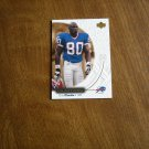 Eric Moulds Buffalo Bills WR Card No. 6 - 2000 Upper Deck Ovation Football Card
