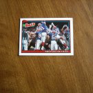 Wright Goes For a Block Buffalo Bills Team Leaders Card No. 629 - 1991 Topps  Football Card