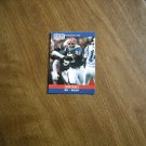 Leon Seals Buffalo Bills DE Card No. 442 - 1990 NFL Football Card