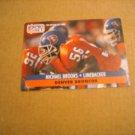 Michael Brooks Denver Broncos Linebacker Card No. 137 - 1991 NFL Football Card