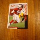 Frank Sanders Arizona Cardinals WR Card No. 125 - 1998 Score Football Card