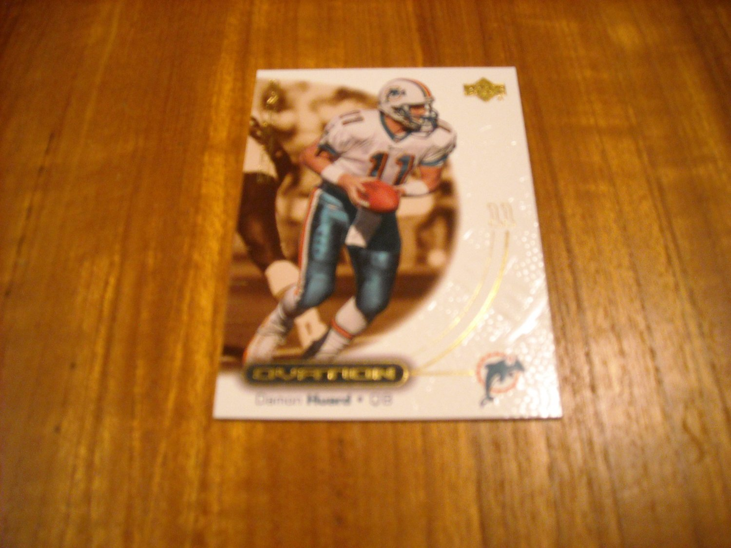 Damon Huard Miami Dolphins QB Card No. 30 - 2000 Upper Deck Football Card