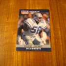 Eugene Lockhart Dallas Cowboys LB Card No. 82 - 1990 NFL Pro Set Football Card