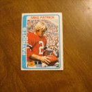 Mike Patrick New England Patriots P Card No. 56 - 1978 Topps Football Card