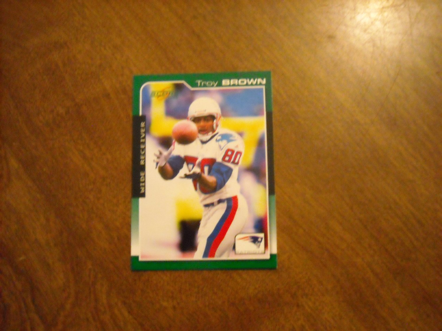 Troy Brown New England Patriots #122 2000 Score Football Card