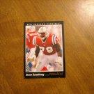 Bruce Armstrong New England Patriots OT Card No. 40 - 1993 Score Pinnacle Football Card