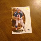 Drew Bledsoe New England Patriots QB Card No. 33 - 2000 Upper Deck Ovation Football Card