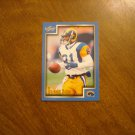 Az-Zahir Hakim St. Louis Rams WR Card No. 104 - 1999 Score Football Card
