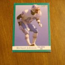 Richard Johnson Houston Oilers DB Card No. 64 - 1991 Fleer Football Card