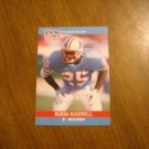 Bubba McDowell Houston Oilers S Card No. 123 - 1990 NFL Pro Set Football Card