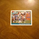 Seattle Seahawks Fenner With Fancy Footwork Card No. 653 - 1991 Topps Football Card