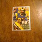 Willie Anderson Los Angeles Rams WR Card No. 454 - 1993 Fleer Football Card