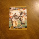 Renaldo Turnbull New Orleans Saints DE Card No. 682 - 1990 NFL Pro Set Football Card