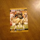 Kevin Haverdink New Orleans Saints T Card No. 742 - 1990 NFL Pro Set Football Card