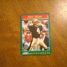 Steve Walsh New Orleans Saints QB Card No. 246 - 1992 Score Football Card