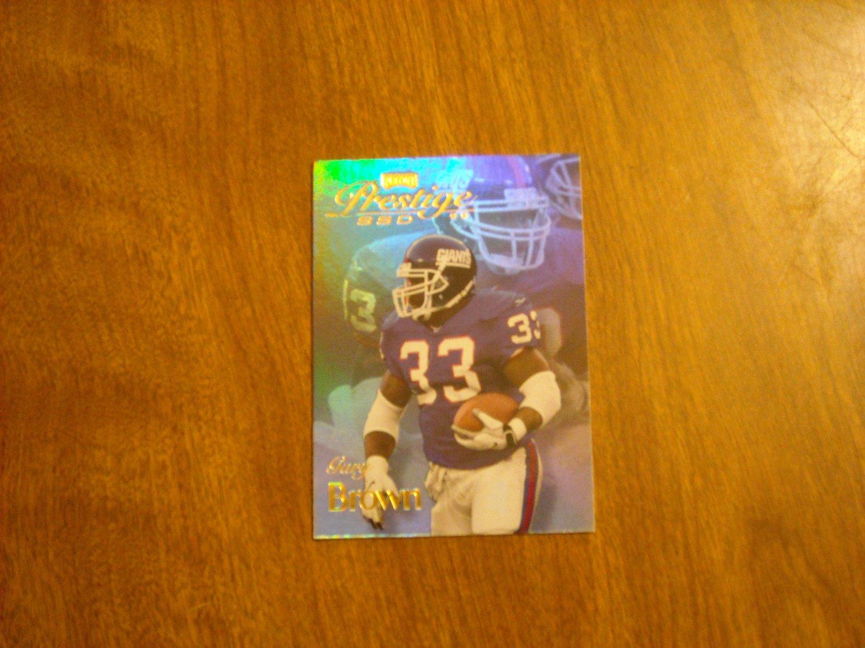Gary Brown New York Giants Prestige SSD Playoff Card No. BO85 / 85 - 1999 Playoff Football Card