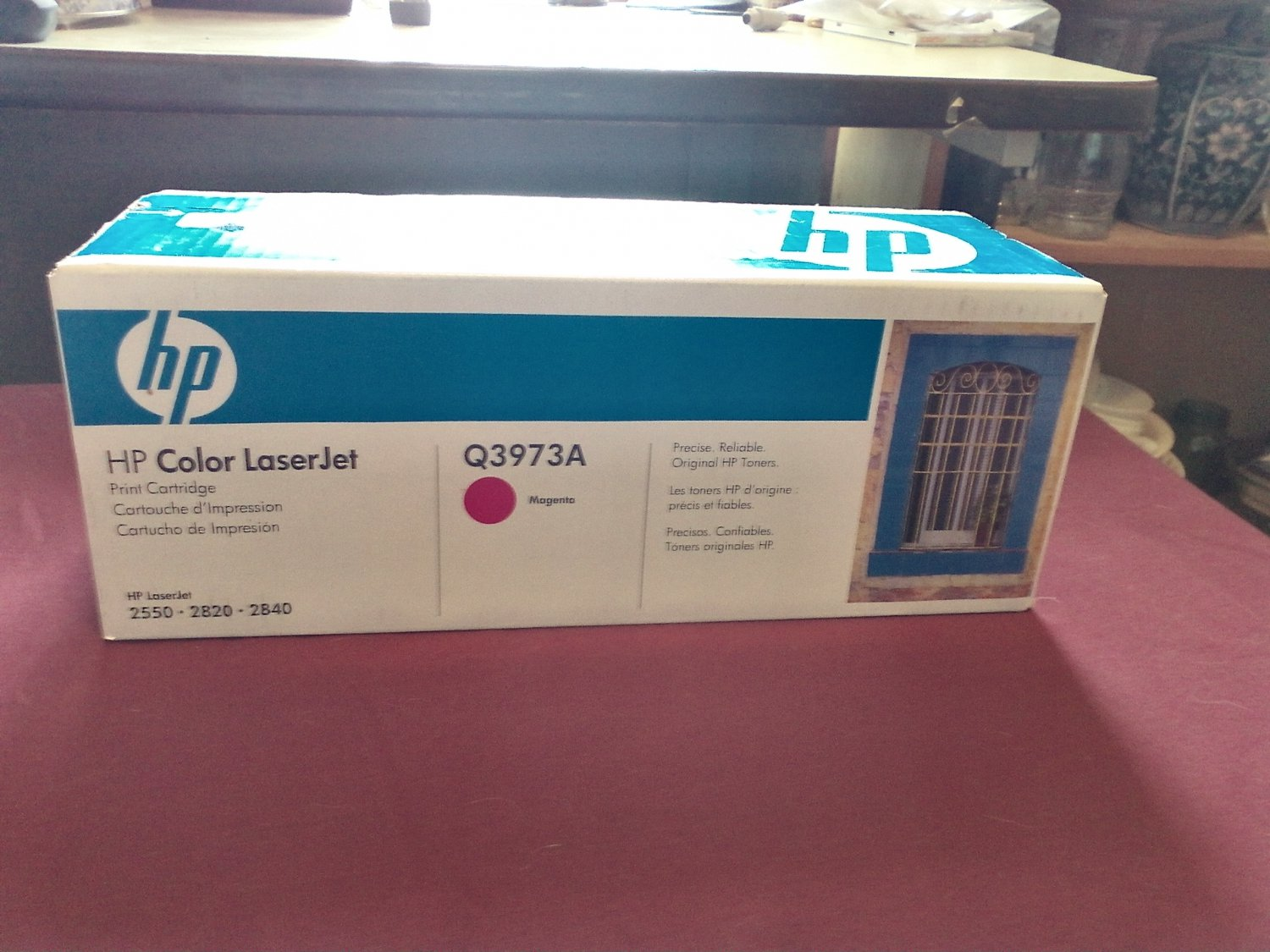 HP Color LaserJet Q3973A Magenta Print Cartridge NIP Hewlett Packard (SG)