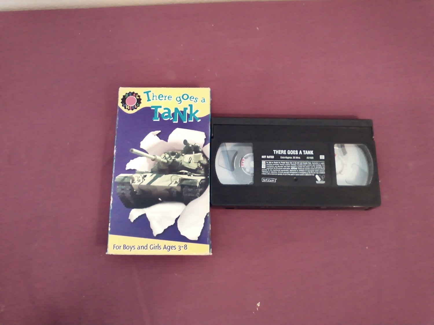 There Goes a Tank - VHS Kid Vision (2003) WarnerVision Warner Bros. Dave Hood