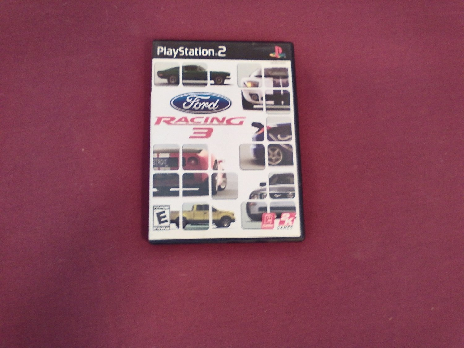 Ford Racing 3 PS2 PlayStation 2, Rated E Take Two Interactive Software (2005) DVD Game (mw)