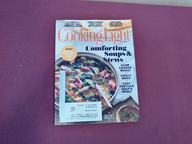 Cooking Light October 2016 Vol. 30 No. 9 - Comforting Soups & Stews