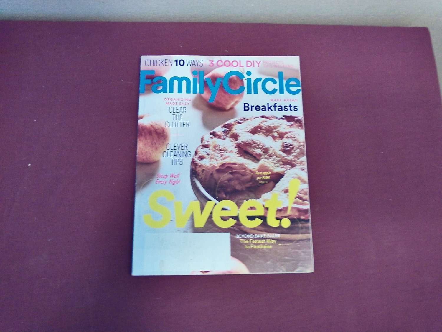 Family Circle Magazine September 2016 Volume 129 Number 9 - Make Ahead Breakfasts